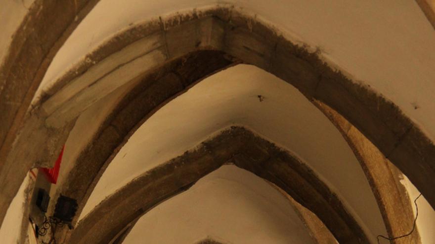 Soportales medievales en Bistrita. Cristian Bortes.