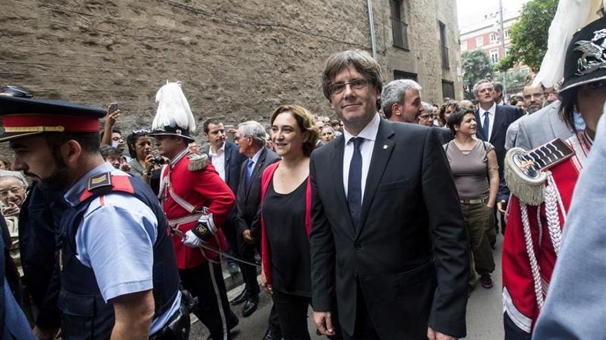 Puigdemont: Para avanzar en hacer un nuevo país, cuanta más unidad haya mejor