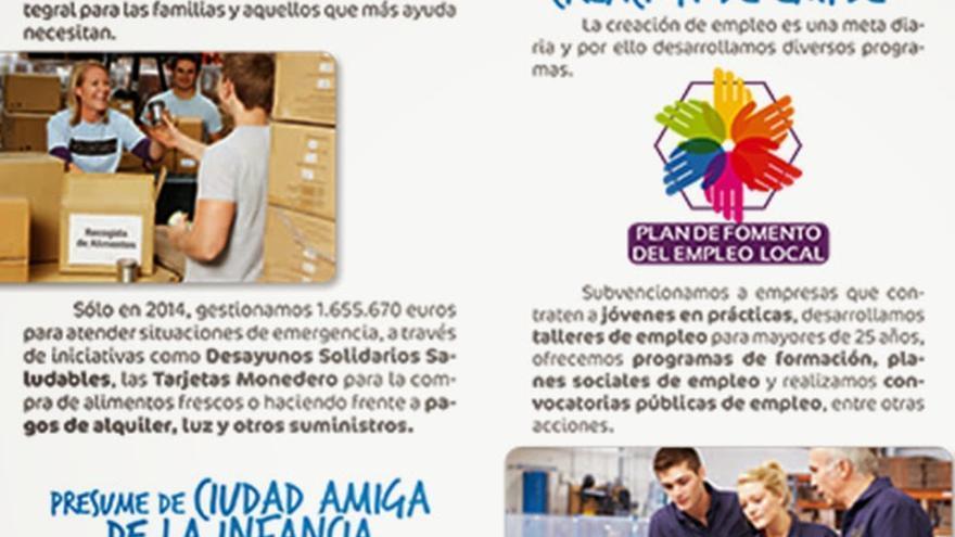 """Cartel de campaña """"Presume de ciudad"""" del Ayuntamiento de Guadalajara"""