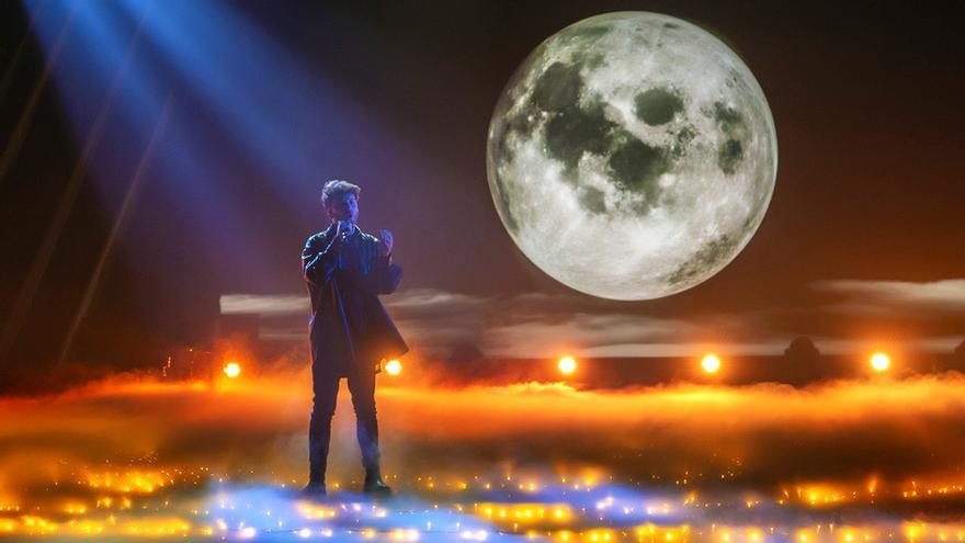 Blas Cantó en Destino Eurovisión