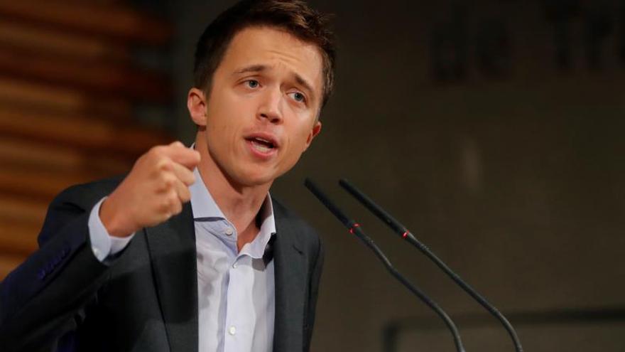 Íñigo Errejón anuncia su candidatura al 10N.