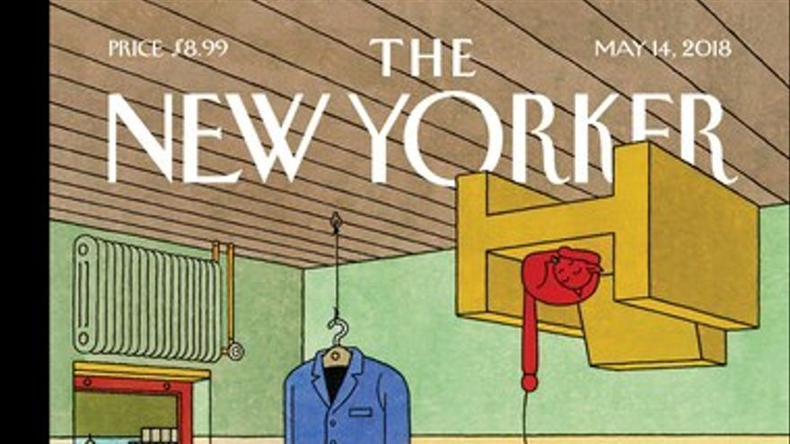 Portada The New Yorker, del 12 de mayo de 2018