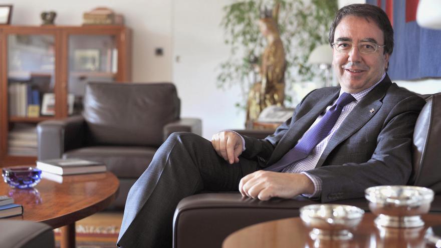 Fernando Galván, rector de la UAH y presidente de la Confederación de Rectores de las Universidades Públicas Madrileñas (Cruma)