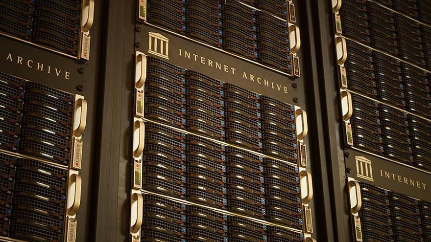 Internet Archive guarda ya 25 petabytes de información