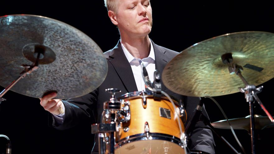 El baterista Michael Klopp