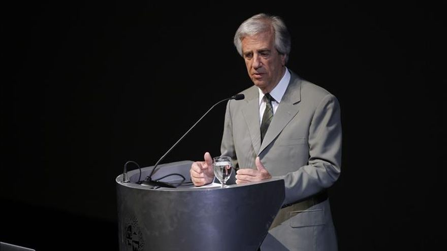 Vázquez prevé viajar a Bruselas para impulsar acuerdo entre Mercosur y UE