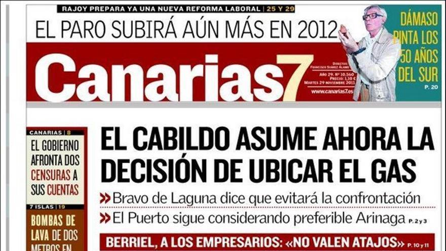 De las portadas del día (29/11/2011) #1