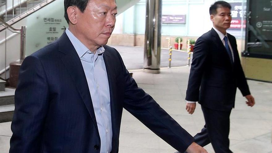 La justicia surcoreana decide no arrestar al presidente de Lotte