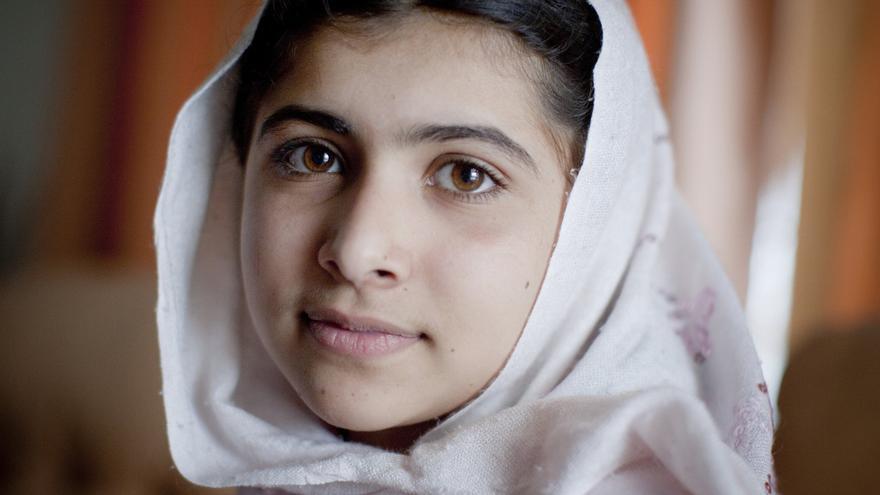 Malala Yousafzai, Premio Nobel de la Paz 2014. Foto: Veronique de Viguerie / Getty Images