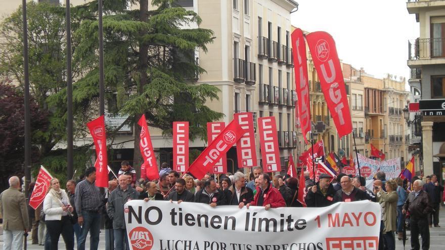 Miles de personas se echan a la calle en Castilla-La Mancha contra el paro y por el empleo