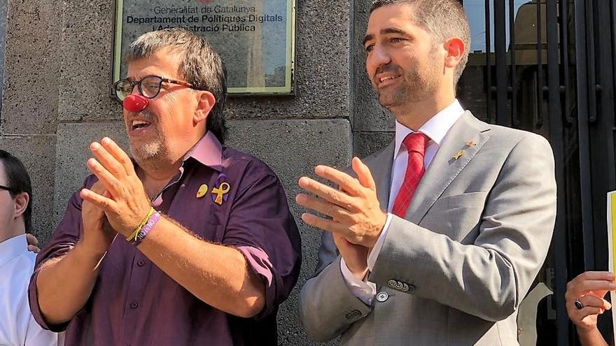 """Consejero catalán pide a sus funcionarios defender las instituciones catalanas frente a la """"represión"""" del Estado"""