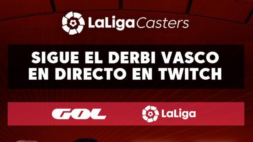 El Real Sociedad-Athletic de LaLiga se verá en Twitch con Ibai Llanos