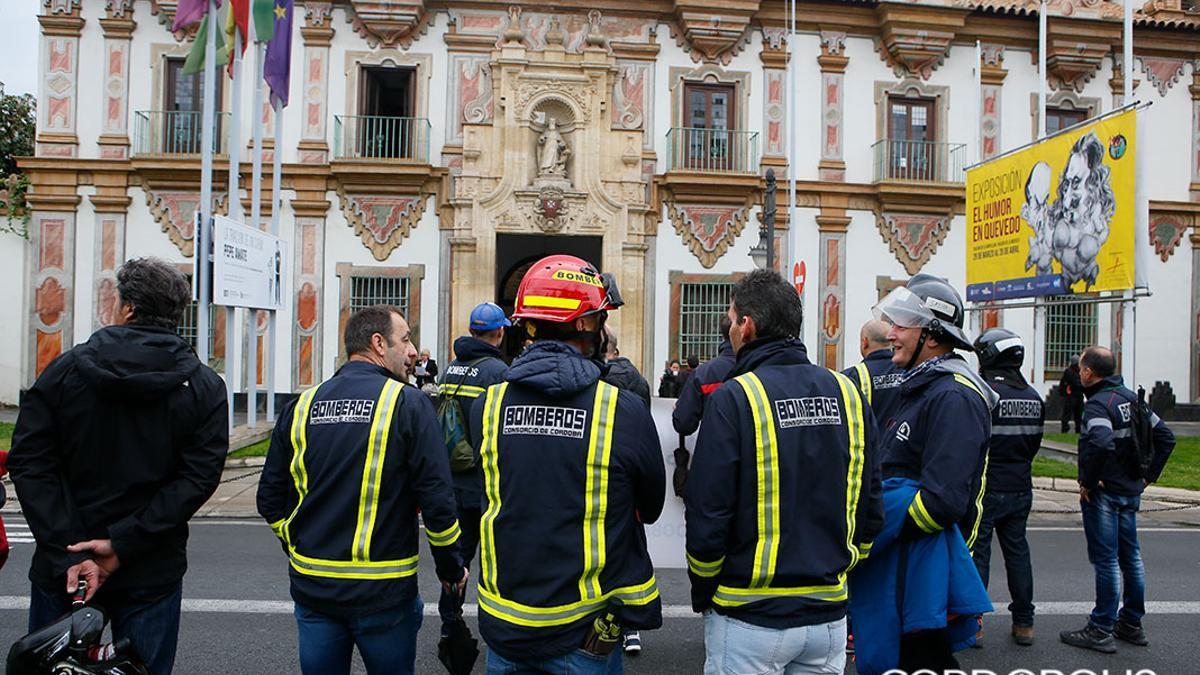 Imagen de archivo de bomberos del Consorcio Provincial.