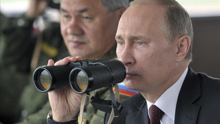 El ministro de Defensa ruso inspecciona la capacidad de combate de la flota en Crimea
