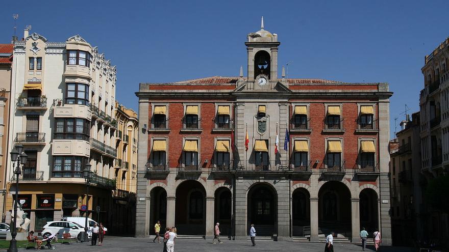 El Ayuntamiento de Zamora en una imagen de archivo.
