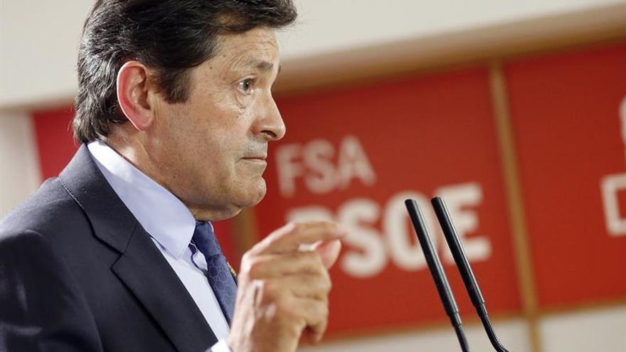 Javier Fernández, orgulloso de una Asturias que no precisa afirmarse contra nadie
