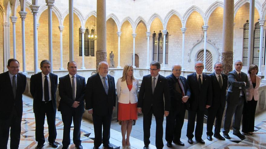 """Artur Mas apuesta por el entendimiento con Mariano Rajoy pero avisa de que Cataluña """"hará su camino"""""""