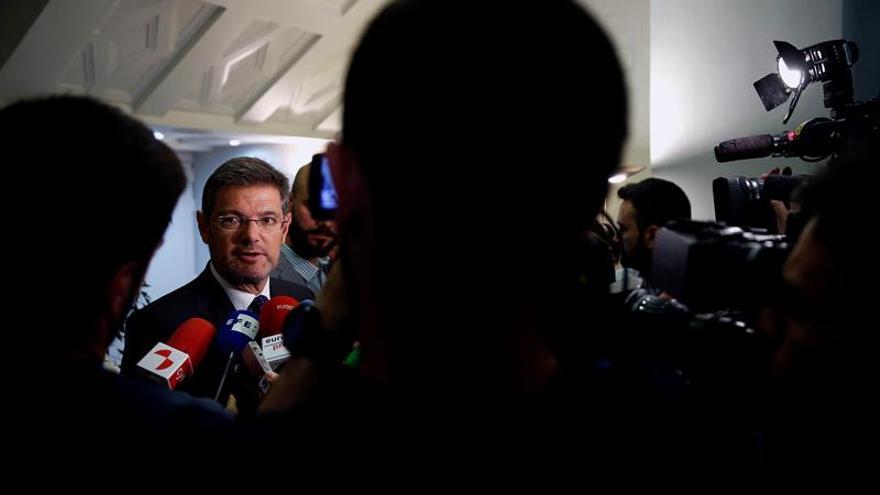 Catalá: Jueces y letrados de justicia cumplen con su obligación con fiscales