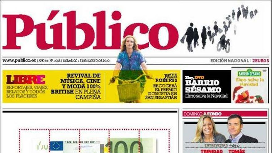 De las portadas del día (15/08/2010) #12