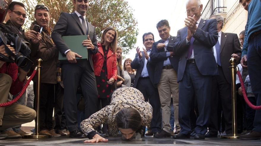 Ángela Molina se convierte en la primera mujer con estrella en el Paseo de la Fama de Almería