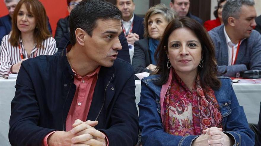 """Sánchez exige a Rajoy cumplir su """"primera obligación"""": aprobar los presupuestos"""