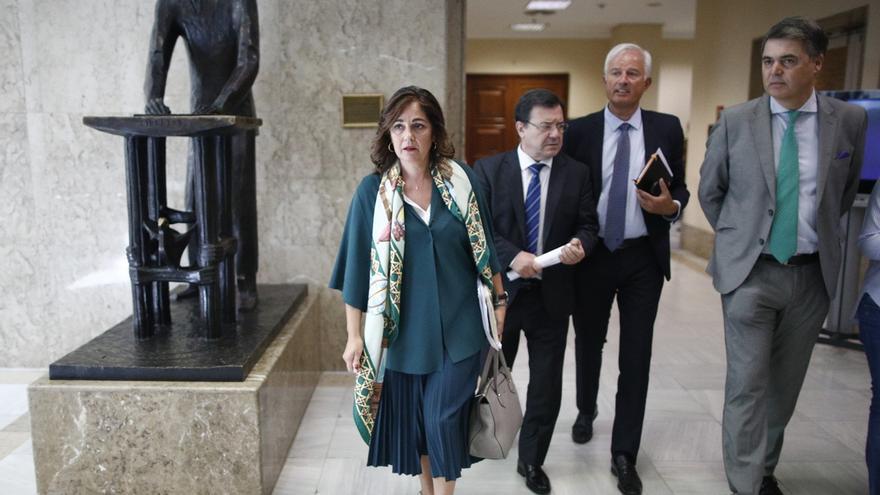 """Rufián llama """"palmera"""" de Cascos a una diputada del PP, que responde tachándole de """"imbécil"""" y dejando la comisión"""