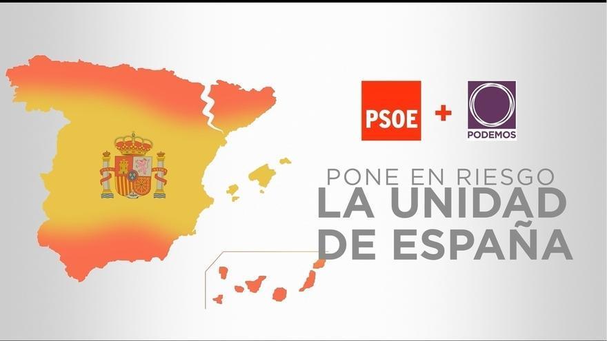 """El PP alerta contra los """"gobiernos extremistas"""": estampida de empresas, impuestos y riesgo de ruptura de España"""