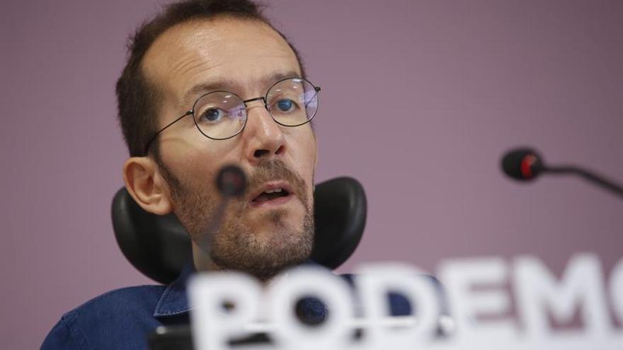 """Echenique asegura que Iglesias y Errejón coinciden """"en lo fundamental"""""""