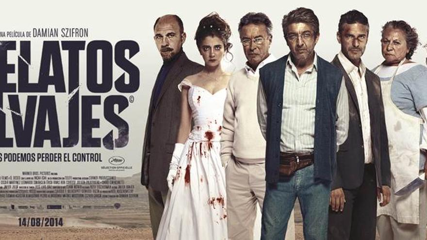 "Cartel ""Relatos Salvajes"", de Damián Szifrón"