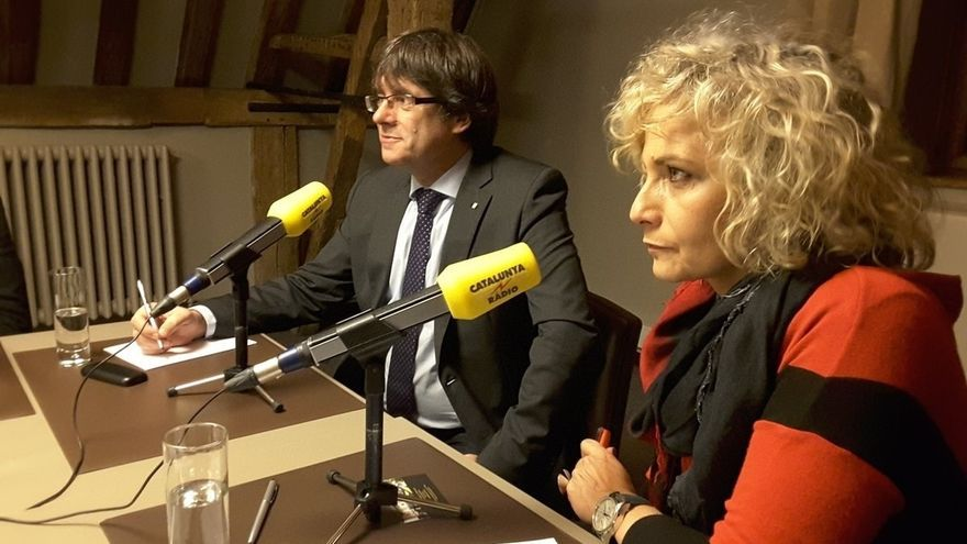 """Puigdemont quiere una lista única que incluya a """"sectores de la CUP y cercanos a Podem"""""""