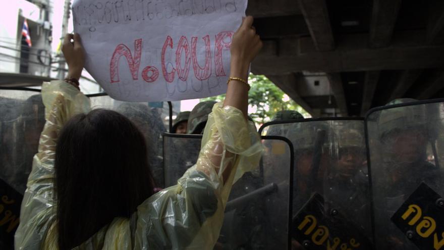 no coup Bangkok 25 mayo
