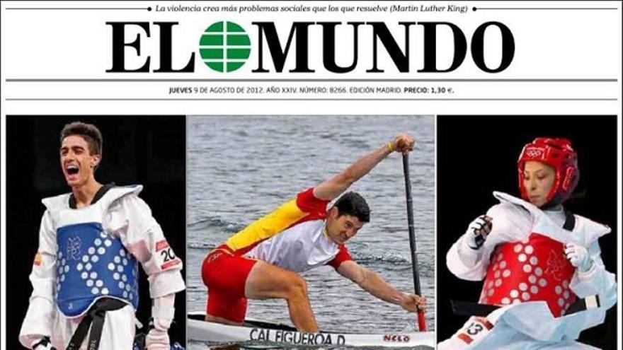 De las portadas del día (09/08/2012) #7