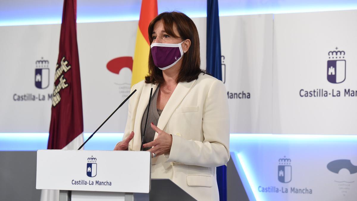 Blanca Fernández, consejera portavoz CLM