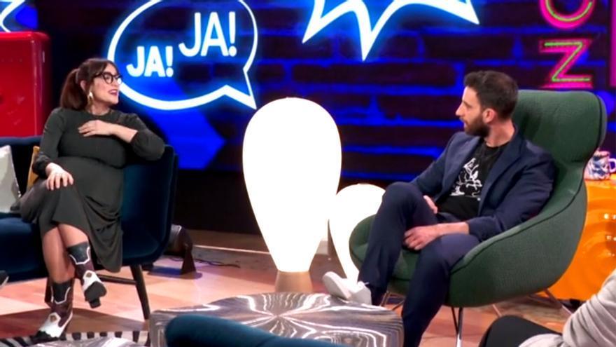 Ana Morgade con Dani Rovira en 'La Noche D'