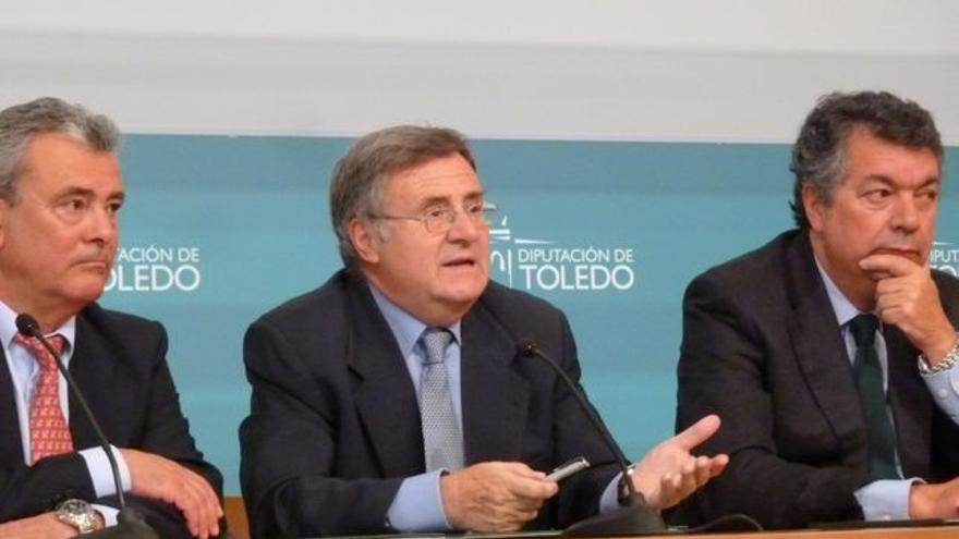 Arturo García Tizón, presidente de la Diputación de Toledo / Foto: Europa Press