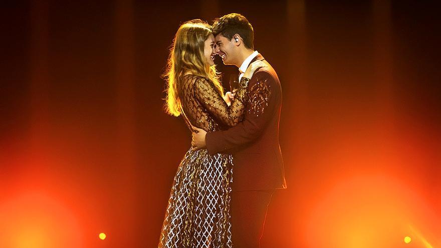 Todo preparado: así ha sido el ensayo Alfred y Amaia, 24 horas antes de Eurovisión