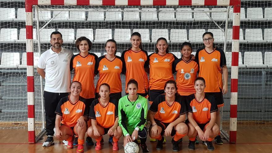 Equipo Valle Aridane Fútbol Sala.