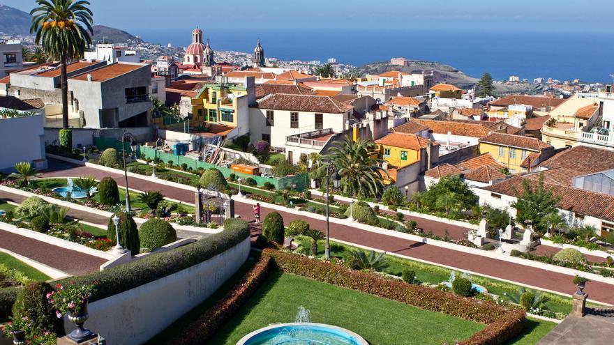 Vista desde el Jardín del Marquesado de la Quinta Roja.