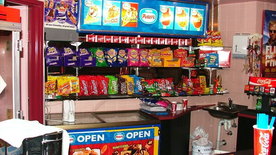 Candy Bar de un cine/ Flickr PJR