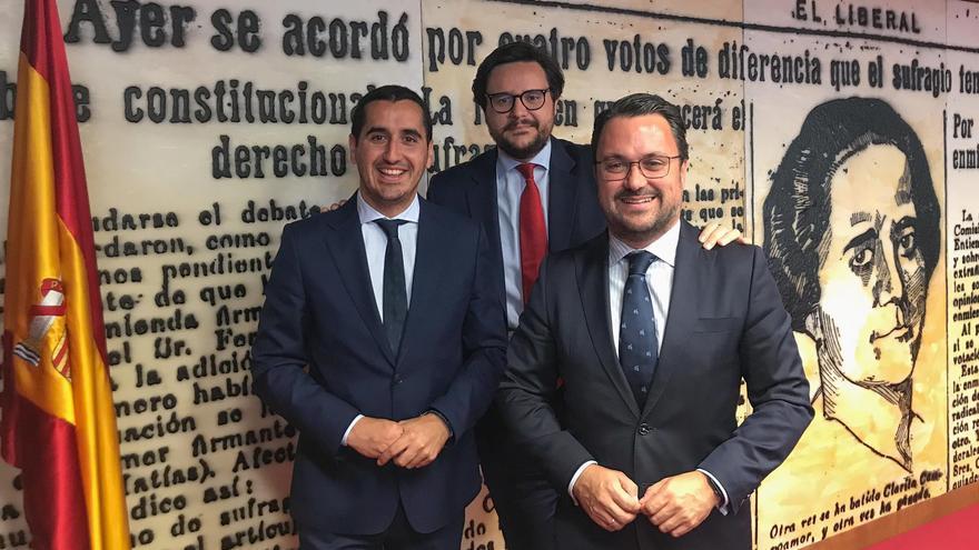 Borja Pérez y Asier Antona.
