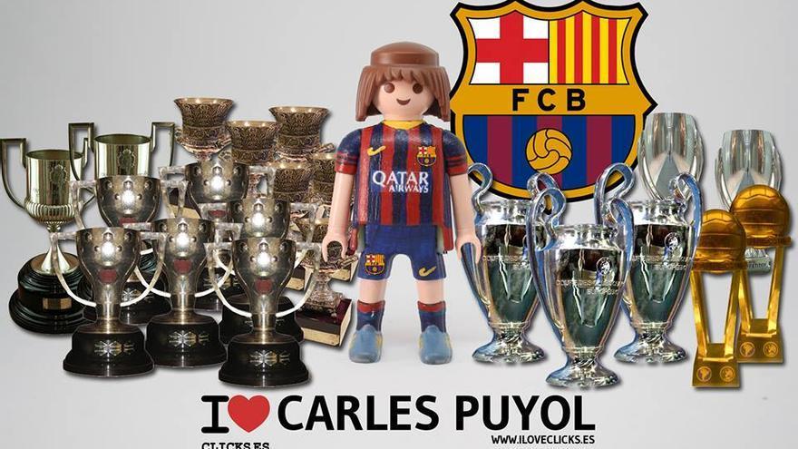 I love Carles Puyol