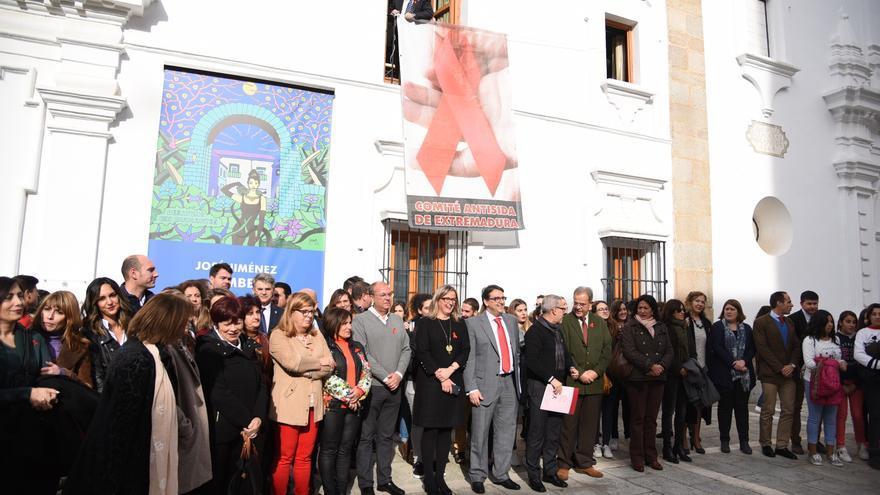 Acto institucional del Día Mundial de la lucha contra el SIDA / Asamblea de Extremadura