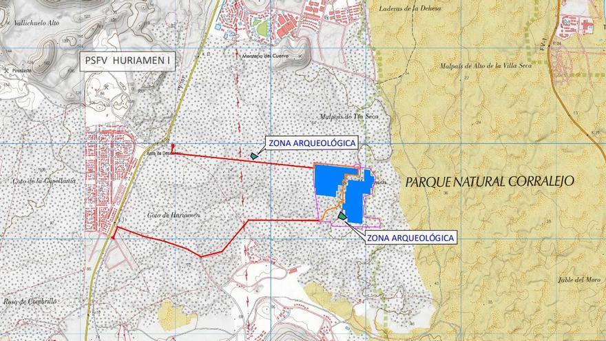 """Coalición Canaria rechaza que se recurra a la figura de """"utilidad pública"""" para instalar 37.000 placas solares junto a las Dunas de Corralejo"""