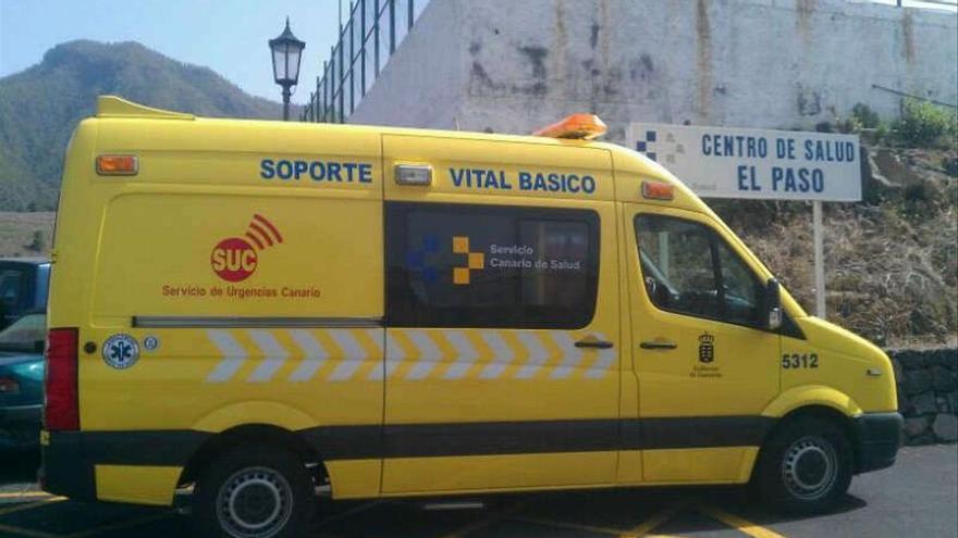Rescatada una senderista herida tras sufrir un accidente en el Barranco de Las Angustias