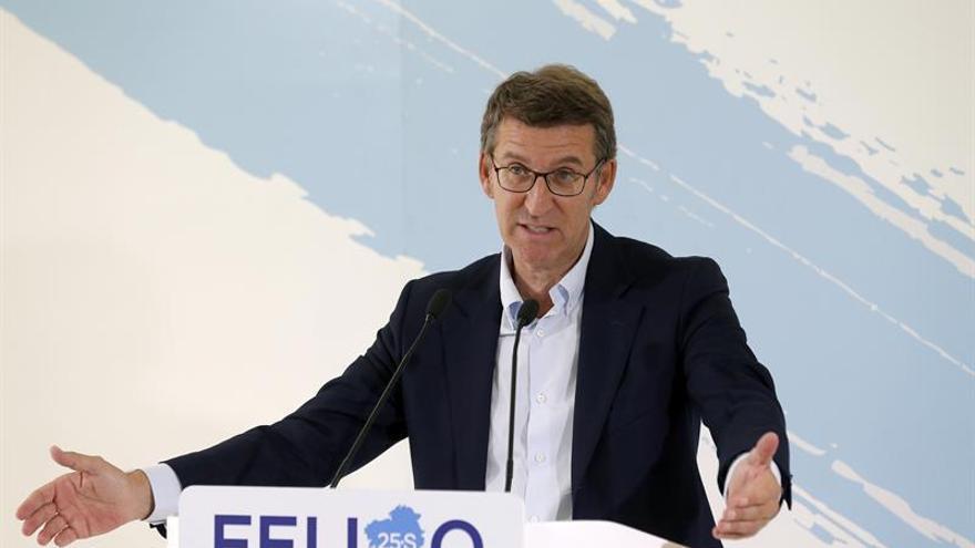 """Feijóo confía en que el """"sentidiño"""" domine en el PSOE y al fin haya Gobierno"""