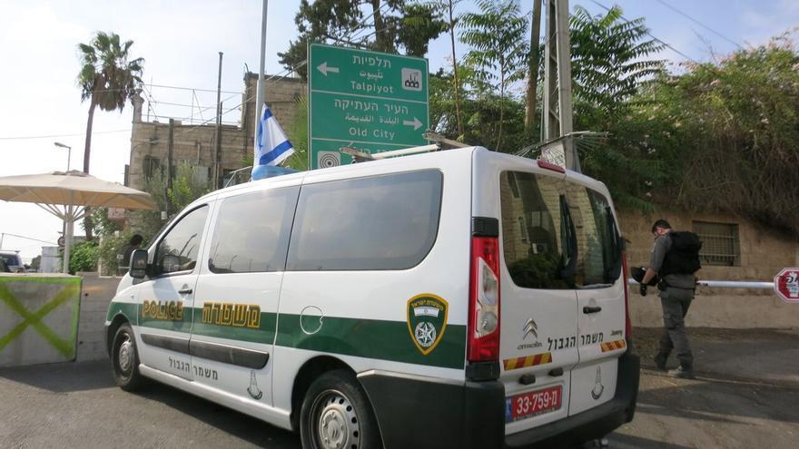 Checkpoint nuevo en pleno Jerusalén Este