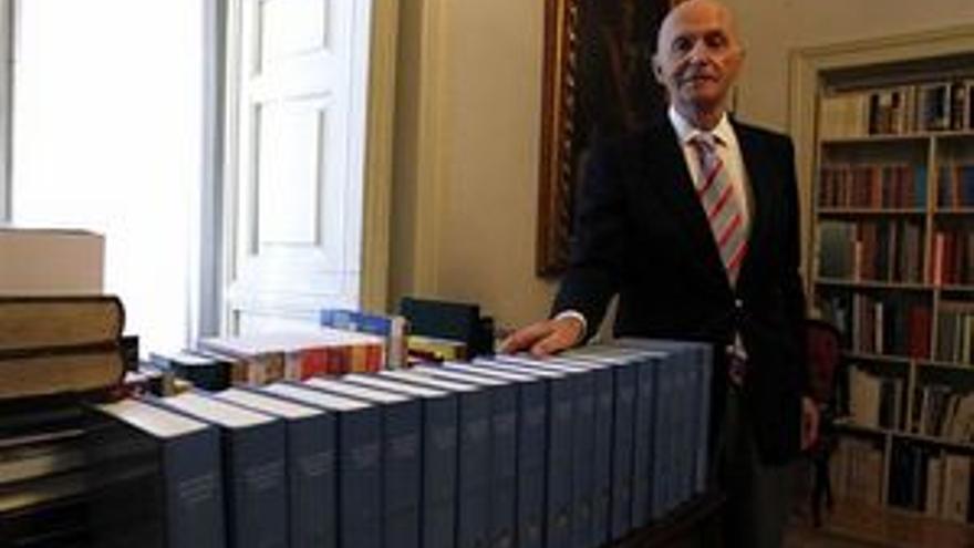 Gonzalo Anes, director de la Real Academia de Historia. (EP)