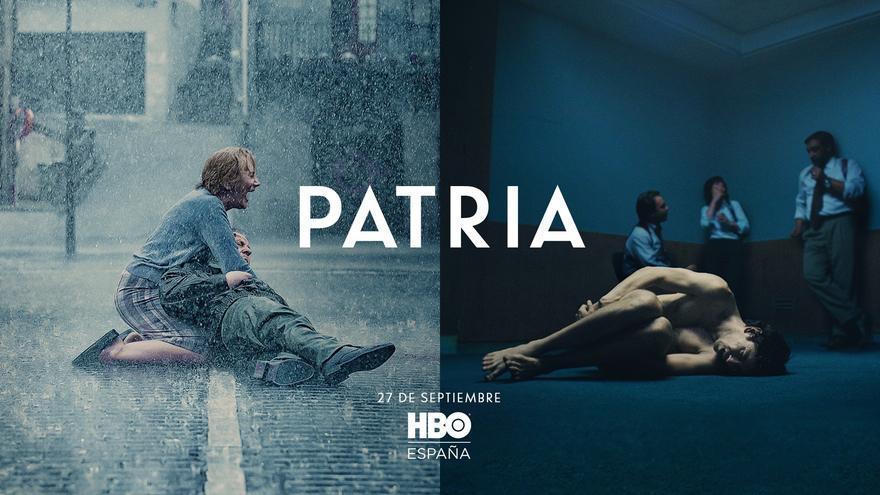 """Críticas al cartel de """"Patria"""" de HBO por equiparar a víctimas y terroristas"""