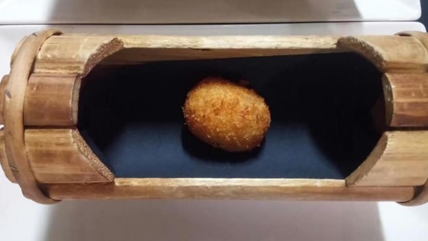 La croqueta elaborada en el restaurante Tobiko de Toledo es la Mejor del Mundo 2018
