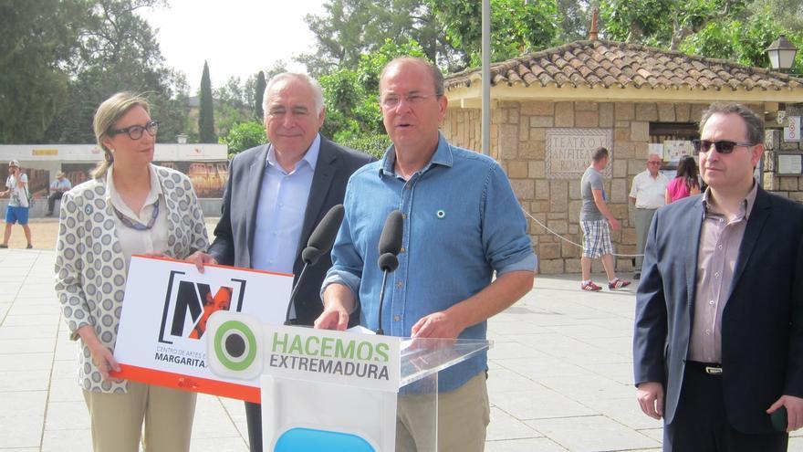 Monago se compromete a ampliar el Festival de Teatro Clásico de Mérida (Badajoz) a Latinoamérica
